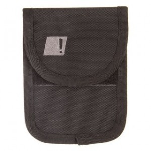 UNDER THE RADAR CELL POUCH BK