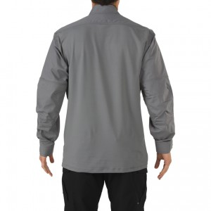 STRYKE TDU LS RAPID SHIRT SMALL SIVA
