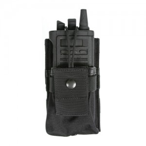 SMALL RADIO POUCH GPS BK
