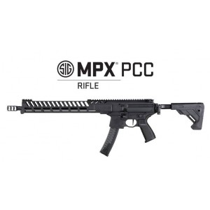 "MPX PCC 9mm, 16"", competition, fold&tele"