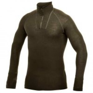 ZIP TURTLENECK 200 PULOVER WOOLPOWER